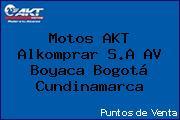 Motos AKT  Alkomprar S.A AV Boyaca Bogotá Cundinamarca