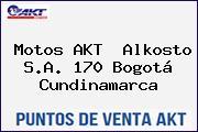 Motos AKT  Alkosto S.A. 170 Bogotá Cundinamarca