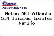 Motos AKT Alkosto S.A Ipiales Ipiales Nariño