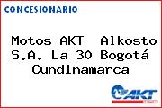 Motos AKT  Alkosto S.A. La 30 Bogotá Cundinamarca