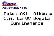 Motos AKT  Alkosto S.A. La 68 Bogotá Cundinamarca