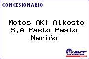 Teléfono y Dirección de Motos AKT Alkosto S.A Pasto, Pasto, Nariño, Colombia