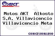 Motos AKT  Alkosto S.A. Villavicencio Villavicencio Meta