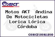Motos AKT  Andina De Motocicletas Lorica Lórica Córdoba