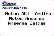 Motos AKT  Andina Motos Anserma Anserma Caldas