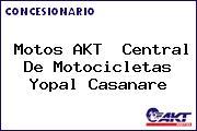 Motos AKT  Central De Motocicletas Yopal Casanare
