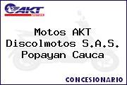 Motos AKT  Discolmotos S.A.S. Popayan Cauca