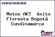 Motos AKT  éxito Floresta Bogotá Cundinamarca