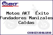Motos AKT  Éxito Fundadores Manizales Caldas