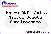 Motos AKT  éxito Nieves Bogotá Cundinamarca