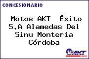 Motos AKT  Éxito S.A Alamedas Del Sinu Monteria Córdoba