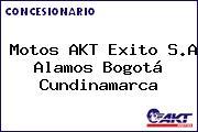 Motos AKT Exito S.A Alamos Bogotá Cundinamarca
