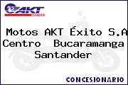 Motos AKT Éxito S.A Centro  Bucaramanga Santander