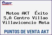 Motos AKT  Éxito S.A Centro Villao Villavicencio Meta