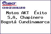 Motos AKT  Éxito S.A. Chapinero Bogotá Cundinamarca