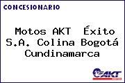 Motos AKT  Éxito S.A. Colina Bogotá Cundinamarca