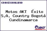 Motos AKT  Éxito S.A. Country Bogotá Cundinamarca