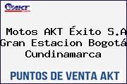 Motos AKT Éxito S.A Gran Estacion Bogotá Cundinamarca