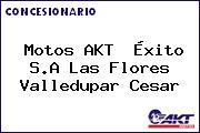 Motos AKT  Éxito S.A Las Flores Valledupar Cesar