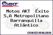 Motos AKT  Éxito S.A Metropolitano Barranquilla Atlántico