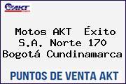 Motos AKT  Éxito S.A. Norte 170 Bogotá Cundinamarca