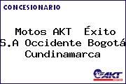 Motos AKT  Éxito S.A Occidente Bogotá Cundinamarca