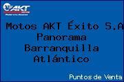 Motos AKT Éxito S.A Panorama Barranquilla Atlántico