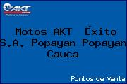 Motos AKT  Éxito S.A. Popayan Popayan Cauca