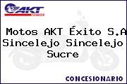 Motos AKT Éxito S.A Sincelejo Sincelejo Sucre