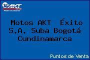 Motos AKT  Éxito S.A. Suba Bogotá Cundinamarca