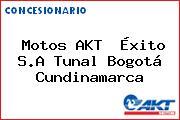 Motos AKT  Éxito S.A Tunal Bogotá Cundinamarca