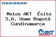 Motos AKT  Éxito S.A. Usme Bogotá Cundinamarca