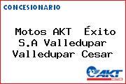 Motos AKT  Éxito S.A Valledupar Valledupar Cesar