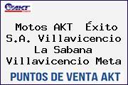 Motos AKT  Éxito S.A. Villavicencio La Sabana Villavicencio Meta