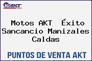 Motos AKT  Éxito Sancancio Manizales Caldas