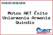 Motos AKT Éxito Uniarmenia Armenia Quindio