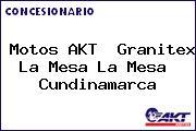Motos AKT  Granitex La Mesa La Mesa  Cundinamarca