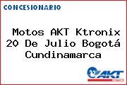 Motos AKT Ktronix 20 De Julio Bogotá Cundinamarca