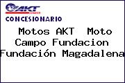 Motos AKT  Moto Campo Fundacion Fundación Magadalena