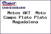 Motos AKT  Moto Campo Plato Plato Magadalena