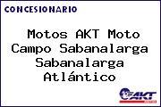 Motos AKT Moto Campo Sabanalarga Sabanalarga Atlántico