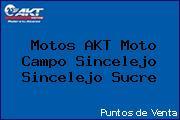 Motos AKT Moto Campo Sincelejo Sincelejo Sucre