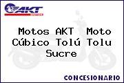 Motos AKT  Moto Cúbico Tolú Tolu Sucre