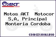 Motos AKT  Motocor S.A. Principal Monteria Cordoba