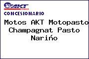 Motos AKT Motopasto Champagnat Pasto Nariño
