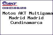 Motos AKT Multigama Madrid Madrid Cundinamarca