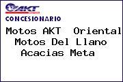 Motos AKT  Oriental Motos Del Llano Acacias Meta