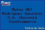 Motos AKT  Rodriguez Gonzalez S.A. Chocontá Cundinamarca