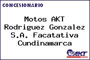 Motos AKT  Rodriguez Gonzalez S.A. Facatativa Cundinamarca
