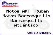 Motos AKT  Ruben Motos Barranquilla Barranquilla Atlántico